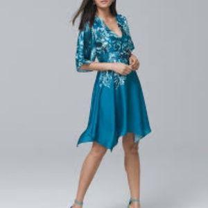 Brand new WHBM silky dress